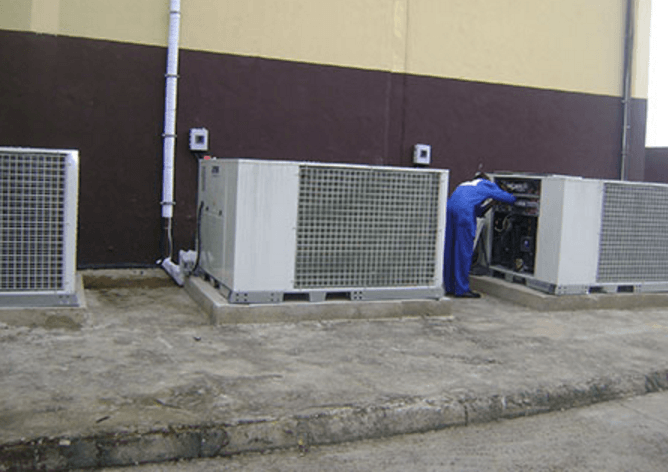 HVAC - Central Air Conditioning Installation & Dust Extraction System - Technoton Ltd