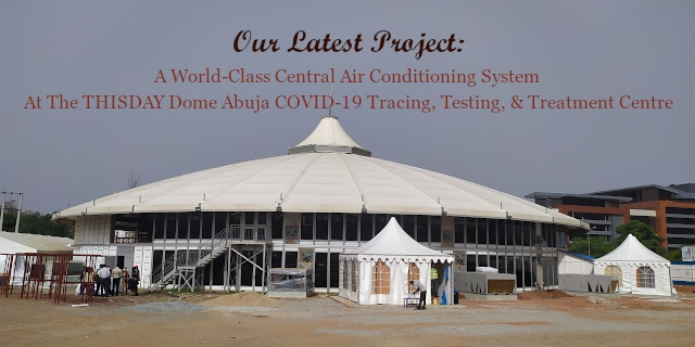 THISDAY Dome Abuja COVID-19 Isolation Centre